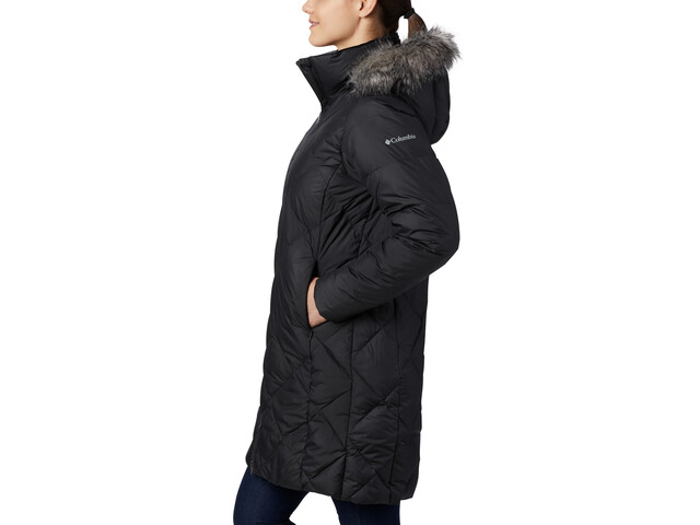 Columbia Icy Heights II Kurtka puchowa Mid Length Kobiety, black